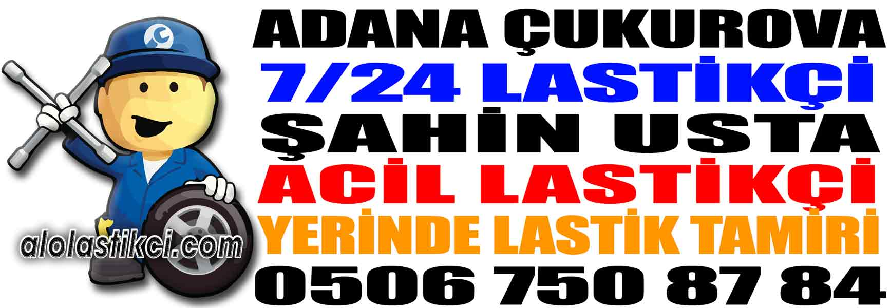 Adana Çukurova Lastikçi