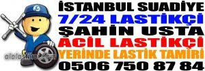 İstanbul Suadiye Lastikçi